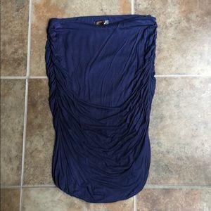 Alondra Ruched Pencil Skirt from Stitch Fix
